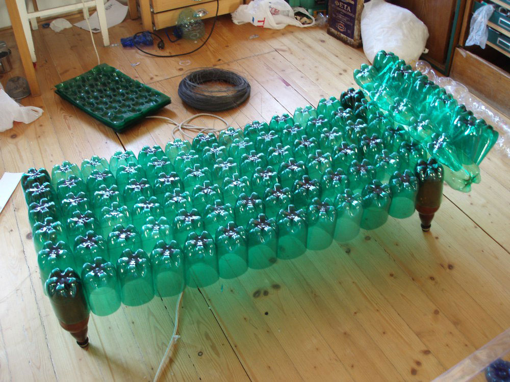 А из пластиковых бутылок своими руками мастер класс фото