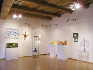 Autorská výstava Veroniky Richterové PET-ART v galerii v Litvínově, 2008