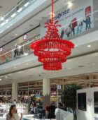 Ruby Chandelier in Nový Smíchov