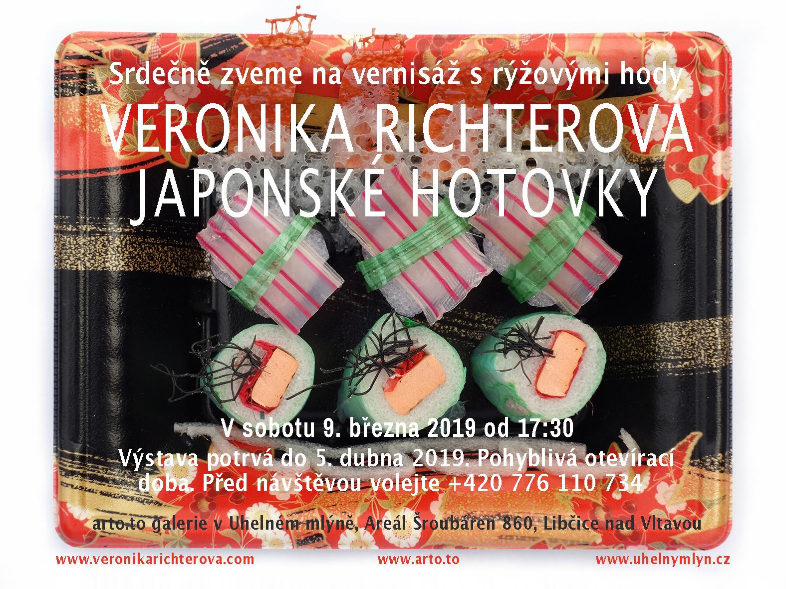 pozvánka VERONIKA RICHTEROVÁ JAPONSKÉ HOTOVKY