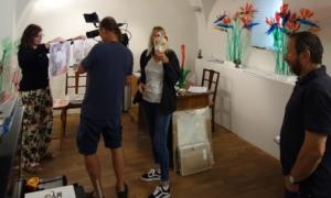 natáčení zářijového Artmixu v galerii Millennium 12.9 (2)