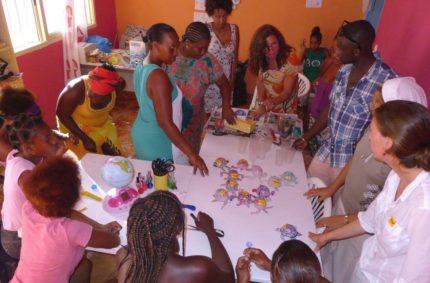 Workshopy pro obyvatele ostrova Boa Vista, Kapverdy